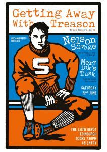 Merrick's Tusk and Getting Away With Treason at Leith Depot Edinburgh